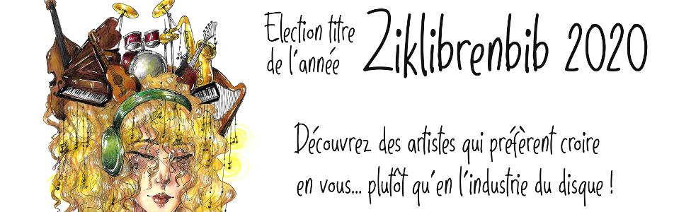 Ziklibrenbib 2020 : élisez la musique libre de l'année